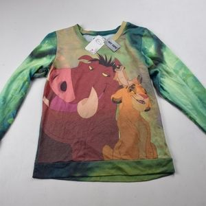 NWT - Disney Lion King Long Sleeve from Hot Topic